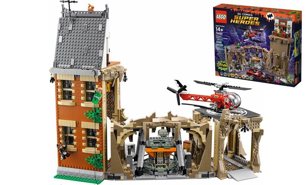 LEGO DC COMICS SUPER HEROES 76052 BATCAVERNA