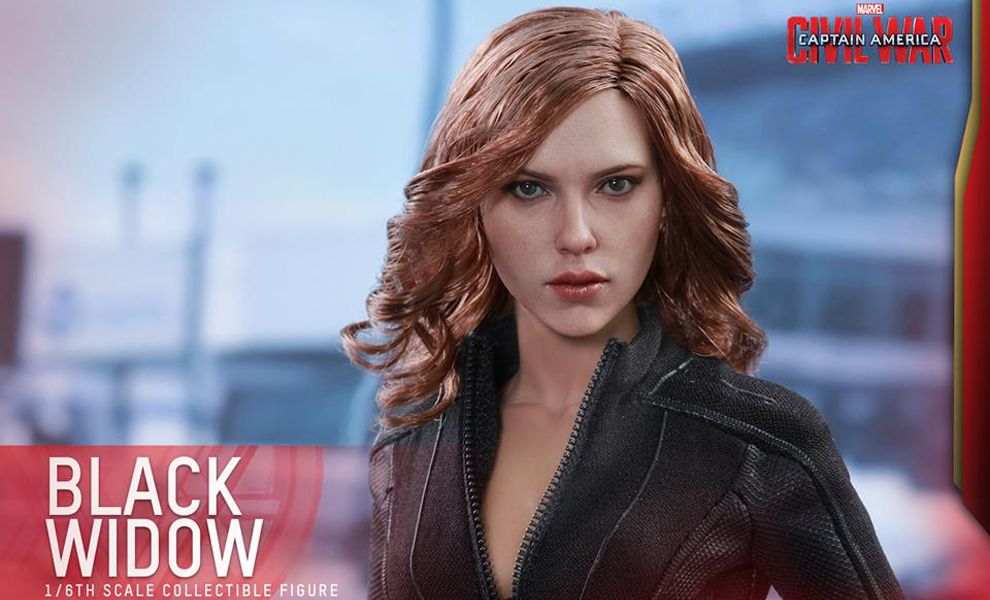 HOT TOYS MMS365 CAPTAIN AMERICA CIVIL WAR BLACK WIDOW
