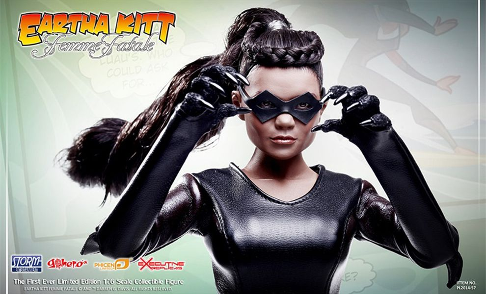 PHICEN PL2014-57 EARTHA KITT FEMME FATALE CATWOMAN BATMAN ADAM WEST