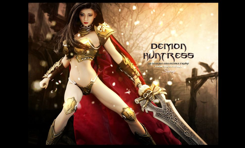 PHICEN PL2016-100 DEMON HUNTRESS COMIC CON EXECLUSIVE