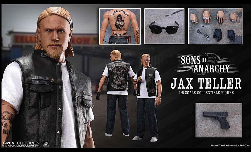 POP CULTURE SHOCK TOYS SONS OF ANARCHY JAX TELLER
