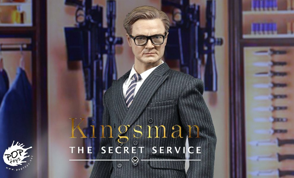 POP TOYS EX07 KINGSMAN THE SECRET SERVICE COLIN FIRTH HARRY HART GALAHAD