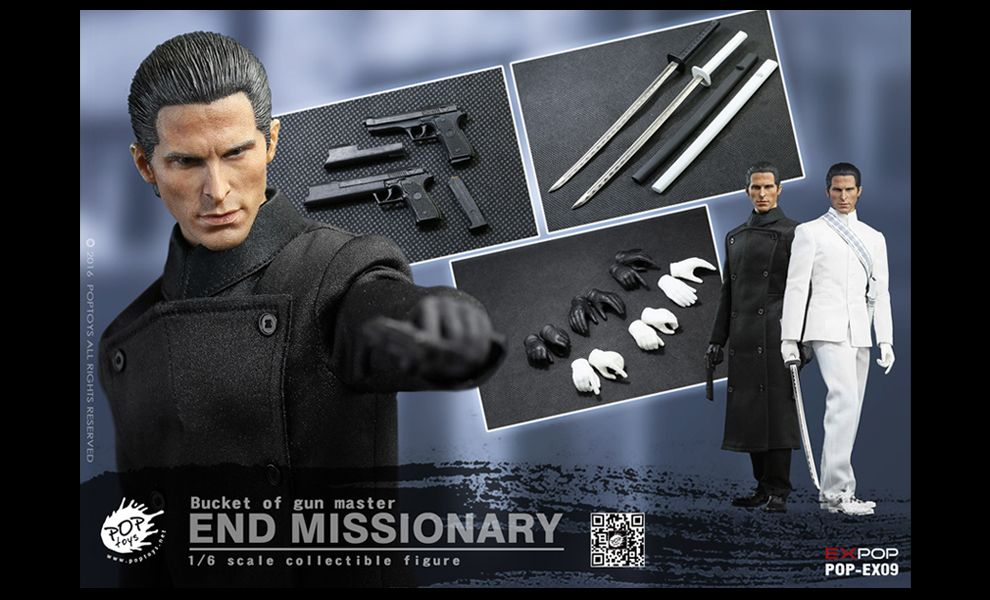 POP TOYS POP-EX09 BUCKET OF GUN MASTER END MISSIONARY EQUILIBRIUM John Preston