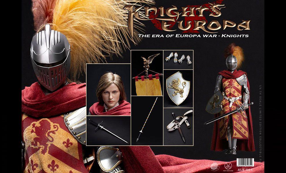 POPTOYS 1/6 ALS004 Armor Legend Series-The Era of Europa War Griffin Knight
