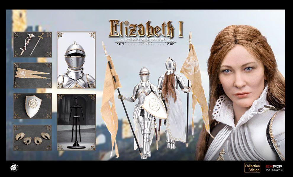 POPTOYS EX027B 1/6 Queen Elizabeth Deluxe Ver Banner