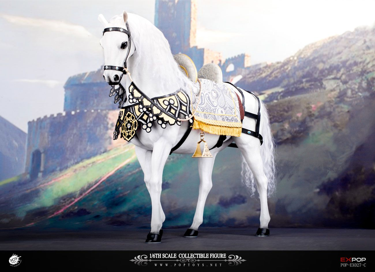 POPTOYS EX027C 1/6 Queen Elizabeth  War Horse Banner
