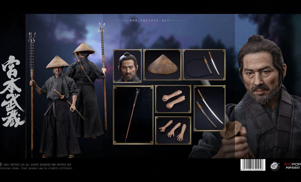 POPTOYS EX037 Miyamoto Musashi Action figure Banner