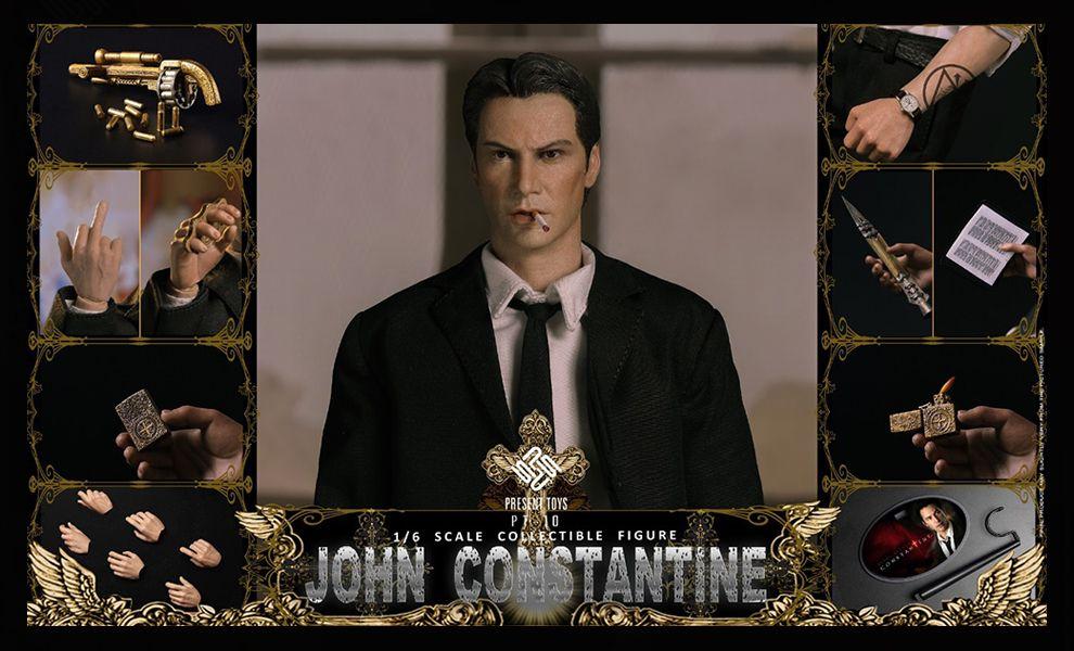 PRESENT TOYS PT-SP10 JOHN CONSTANTINE Hell Detective banner