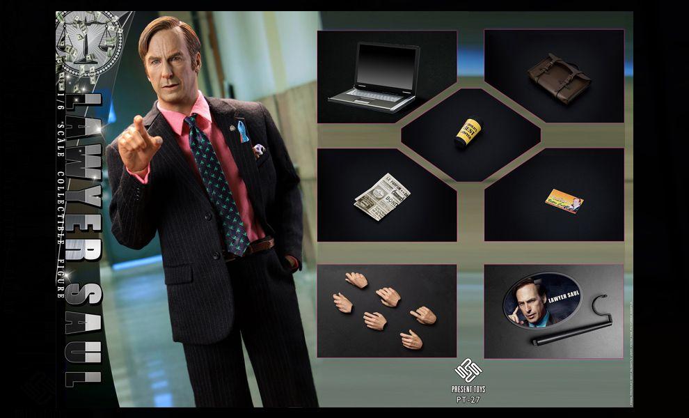 PRESENT TOYS PT-sp27 1/6 Lawyer Saul Breaking Bad Saul Goodman banner