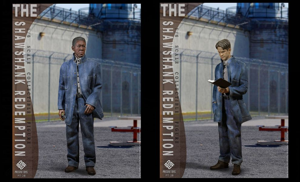 PRESENT TOYS PT-SP28 The Shawshank Redemption 1/6 Double suit Banner