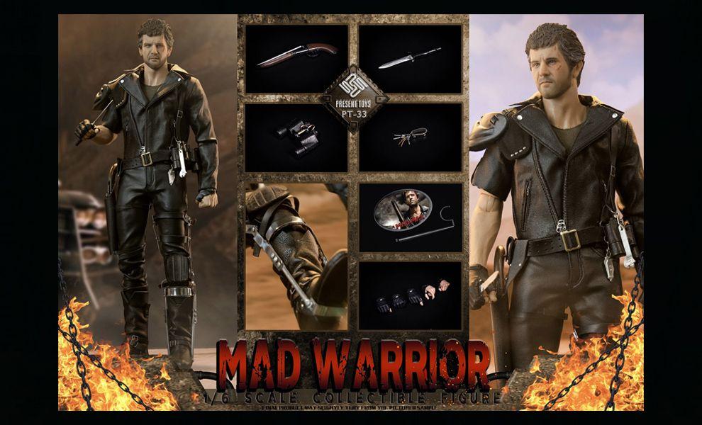 PRESENT TOYS PT-sp33 MAD MAX Mel Gibson Crazy Warrior Banner