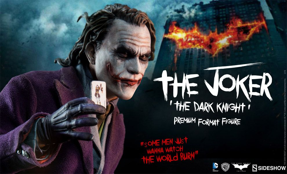 Sideshow Collectibles Premium Format The Dark Knight The Joker