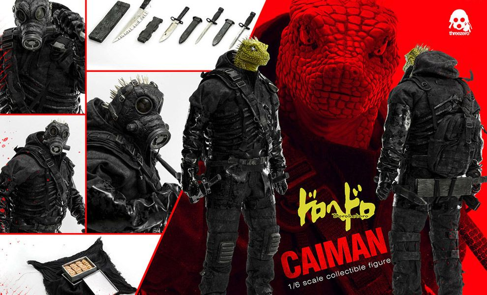 Threezero TZ-DHD-001 Dorohedoro Caiman 1/6 Scale collectible figure