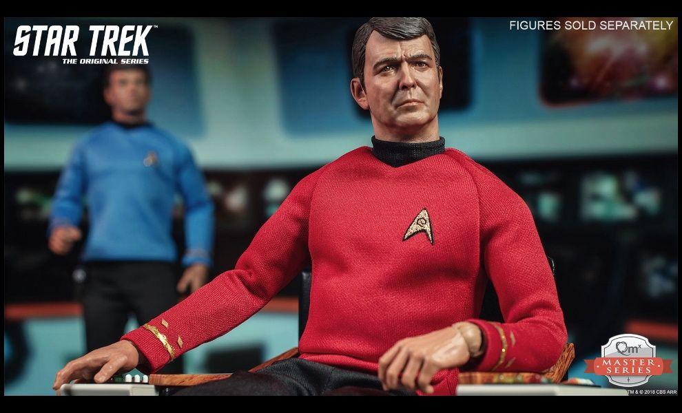 Qmx Quantum Mechanix Master Series The Original Series Star Trek Commander Scott Scotty