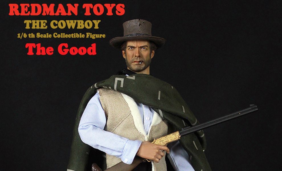 REDMAN-RM27-TOYS-RM-THE-COWBOY-THE-GOOD-THE-GOOD-THE_BAD-THE-UGLY-CLINT-EASTWOOD-IL-BIONDO