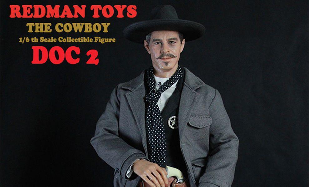 REDMAN TOYS RM012 DOC 2 THE COWBOY DOC HOLLIDAY
