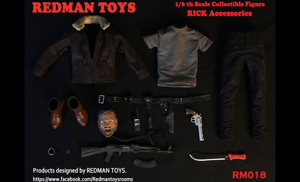 REDMAN TOYS RM018 RICK GRIMES Andrew Lincoln