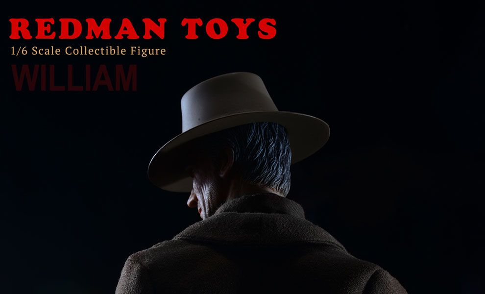 REDMAN TOYS RM038 The COWBOY UNFORGIVEN WILLIAM MUNNY CLINT EASTWOOD