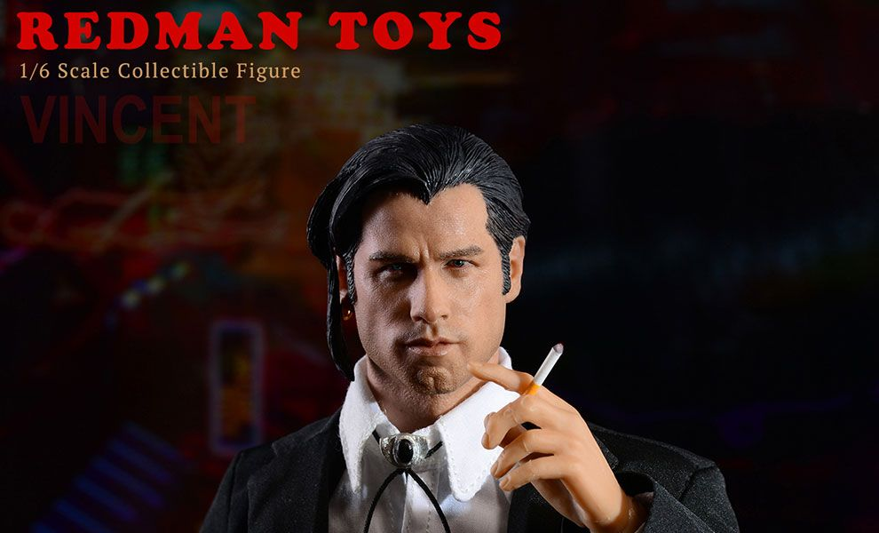 REDMAN TOYS RM039 VINCENT VEGA PULP FICTION JOHN TRAVOLTA