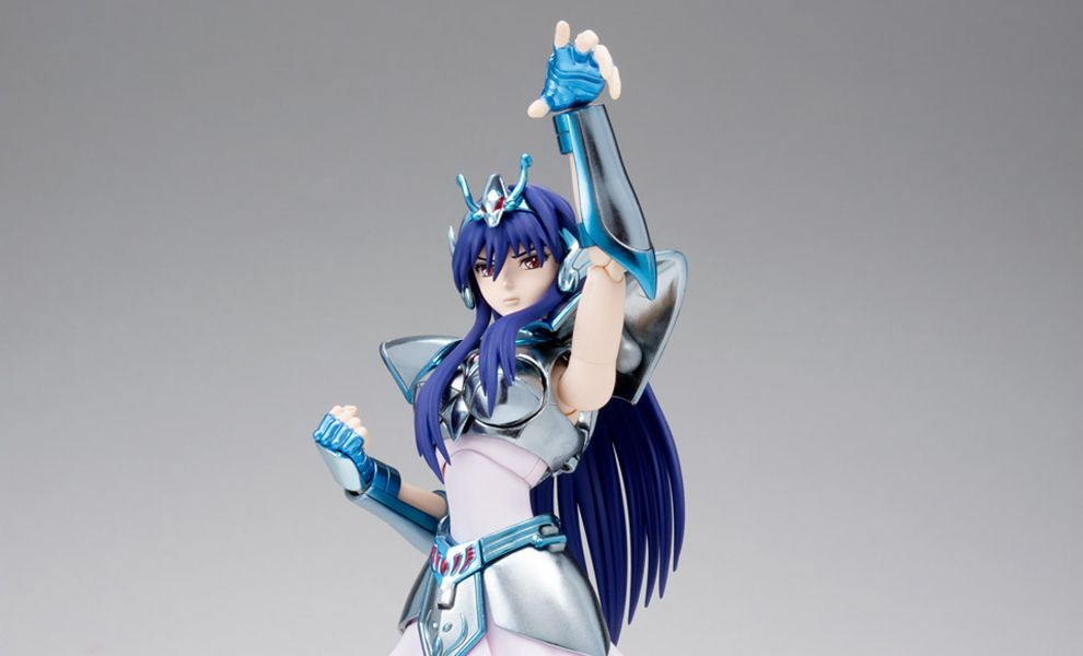 SAINT EQ KYOKO & EQ POWER CLOTH SET 1MYTH CLOTH SAINT SEIYA BANNER