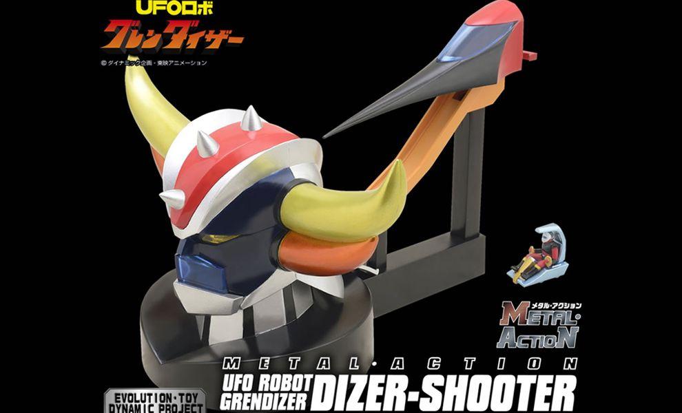 EVOLUTION TOY METAL ACTION NO-4 UFO ROBOT GRENDIZER DIZER-SHOOTER