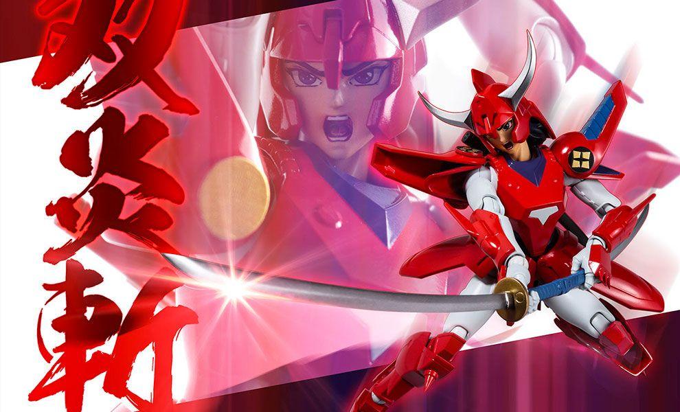 Sentinel Chou-Dan-Kadou Yoroiden-Samurai Troopers Rekka no Ryo I cinque Samurai Banner