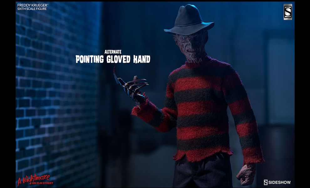 Sideshow freddy krueger a nightmare on elm street sixth scale