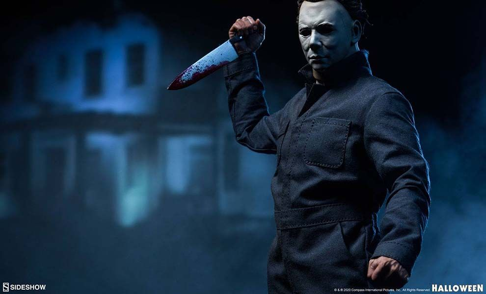 Sideshow Halloween Action Figure 1/6 Michael Myers Sixth Scale Banner