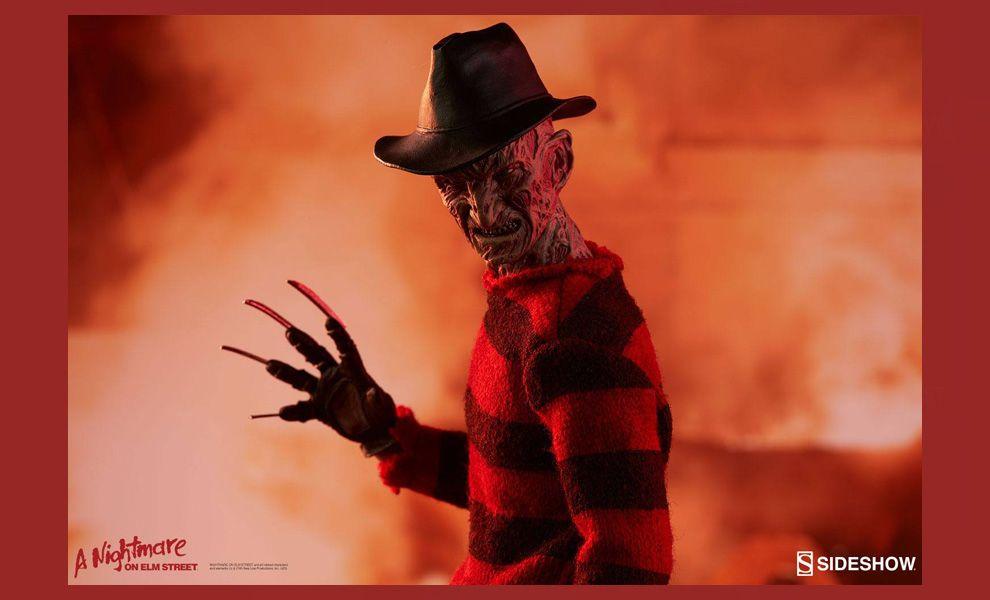 Sideshow Sixth Scale Nightmare on Elm Street 3 Dream Warriors Action Figure 1/6 Freddy Krueger banner