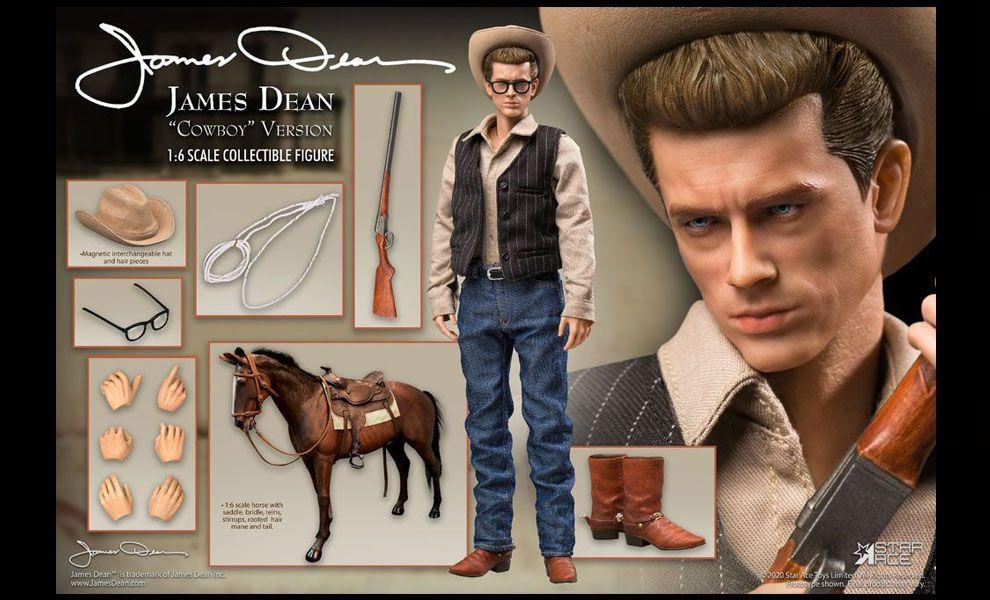 STAR ACE James Dean Action Figure 1/6 James Dean Cowboy Deluxe Version