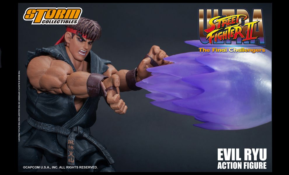 Storm Collectibles Evil Ryu Ultra Street Fighter II The Final Challengers
