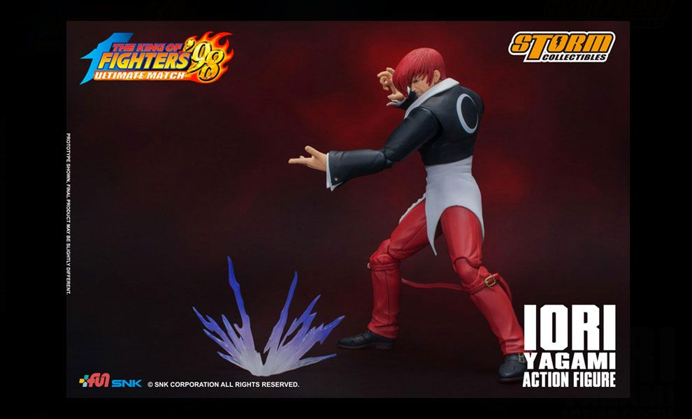 Storm Collectibles Iori Yagami King of Fighters 98 Ultimate Match Action Figure Iori Yagami banner