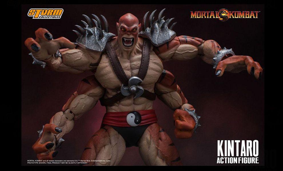 Storm Collectibles Kintaro Mortal Kombat Action Figure 1/12 Kintaro Banner