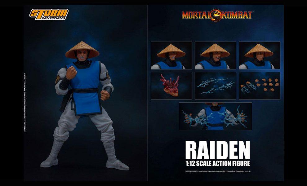 Storm Collectibles Mortal Kombat Action Figure 1/12 Raiden Banner