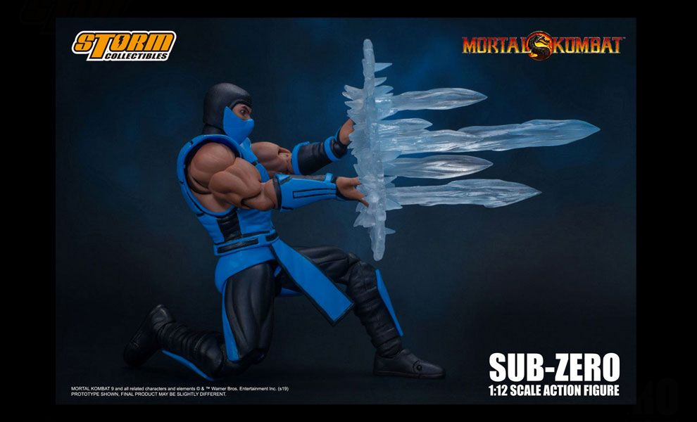 Storm Collectibles Mortal Kombat Action Figure 1/12 Sub-Zero