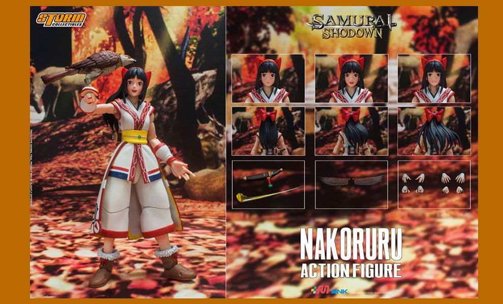 Storm Collectibles Nakoruru Samurai Shodown 1/12 Action Figure banner