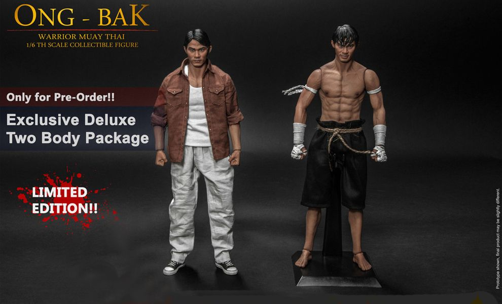 STORM COLLECTIBLES ONG-BAK WARRIOR MUAY-THAI DELUXE VERSION