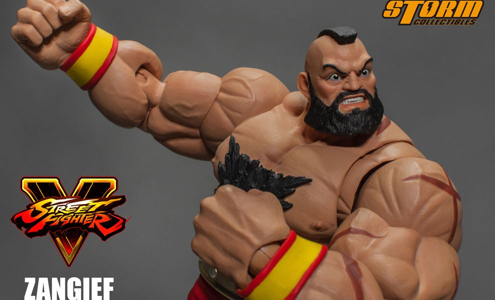 Storm Collectibles Street Fighter V Action Figure Zangief
