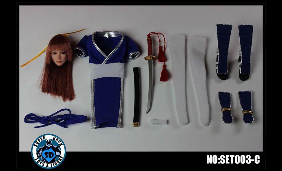 SUPER DUCK NO SET003-C FIGHTING GIRL MAI SHIRANUI FATAL FURY