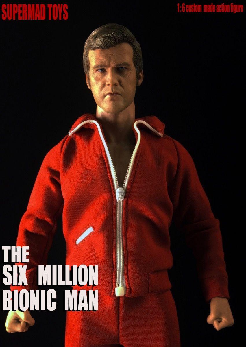 Pre-ordine SUPERMAD TOYS 1//6 L/'Uomo Bionico 1//6 i sei milioni di dollari