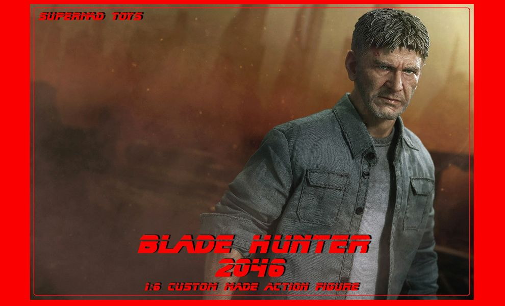 Supermad Toys Harrison Ford as Rick Deckard Blade Hunter 2046 Hunter D