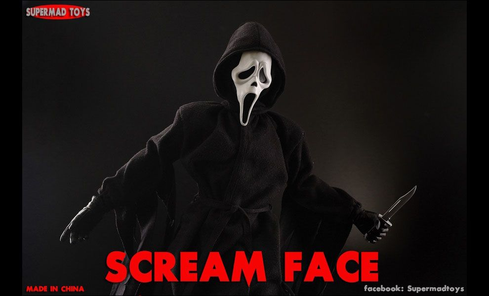 SUPERMAD TOYS SCREAM FACE GHOSTFACE