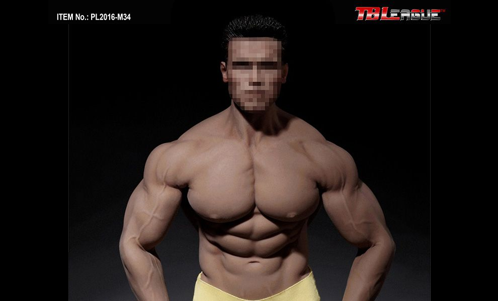 TBLeague PL2016-M34 SUPER FLEXIBLE MALE SEAMLESS BODY