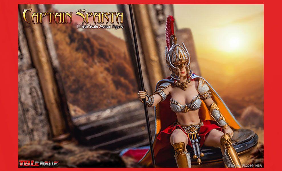 TBLeague PL2019-143A Captain Sparta Scale Action Figure 1/12 Captain Sparta