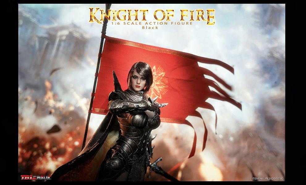 TBLeague PL2020-173C Knight of Fire Black Banner