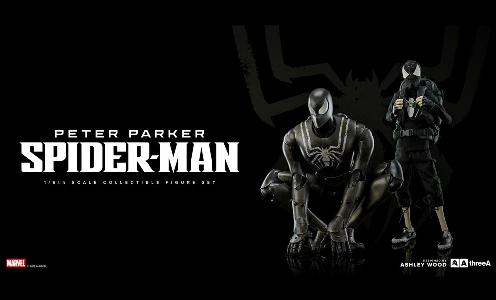 THREEA 3A MARVEL PETER PARKER SPIDER-MAN STEALTH BAMBA EXCLUSIVE