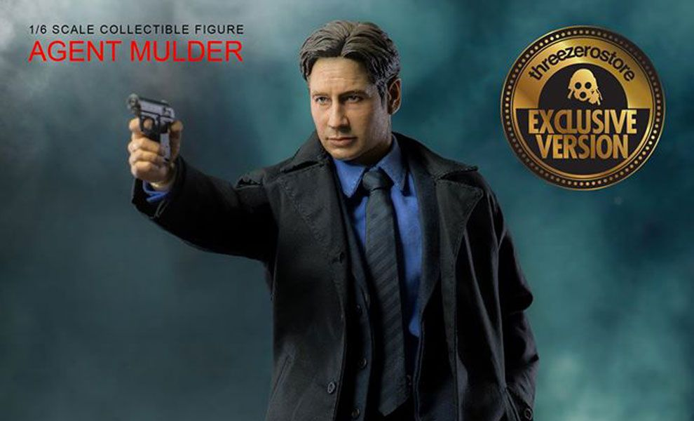 THREEZERO EXCLUSIVE VERSION X-FILES AGENT MULDER