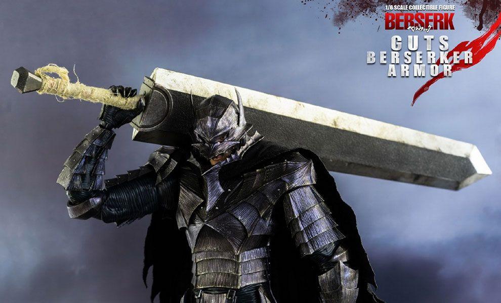THREEZERO 3Z0041 BERSERK Guts Berserker Armor Banner Toys Heroes