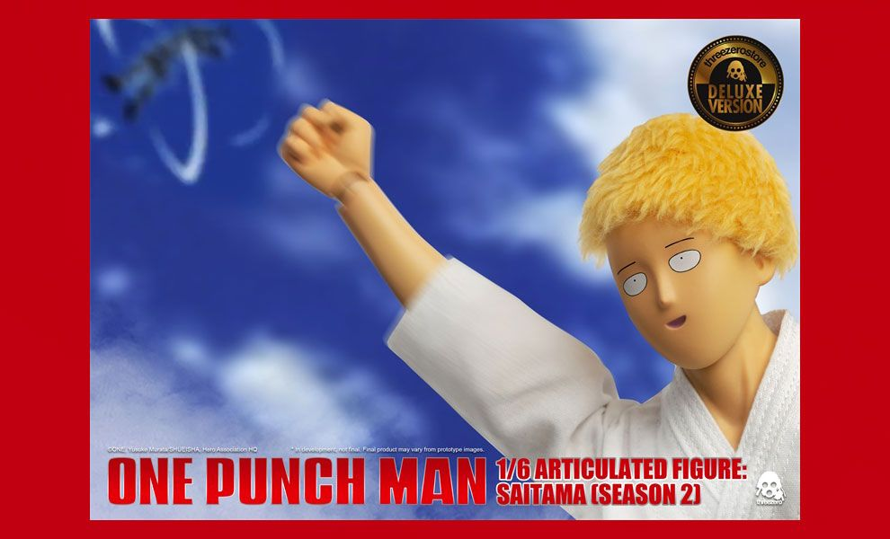 ThreeZero 3Z0134DV SAITAMA SEASON 2 DELUXE VERSION ONE PUNCH MAN