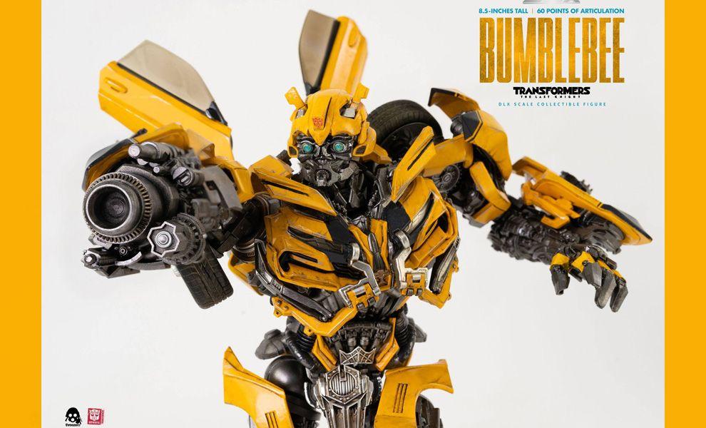 THREEZERO 3Z0164 Transformers The Last Knight DLX Action Figure 1/6 Bumblebee Banner